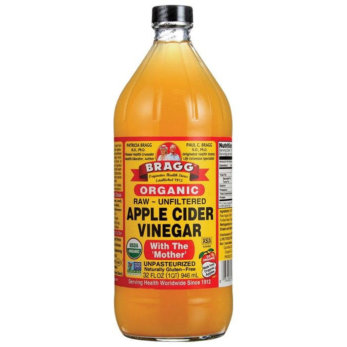 Bragg Organic Apple Cider Vinegar with The Mother Raw Unfiltered