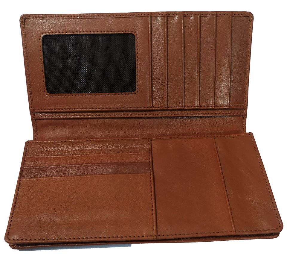 Leather Long Wallet Cum Mobile Cover 45